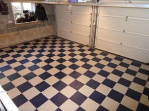 Customer photo of finished Garage flooring project