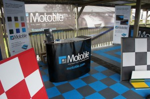 Mototile Garage Flooring Exhibit