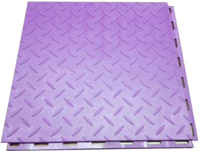 Diamond-Plate Pattern Seamless Floor Tile.