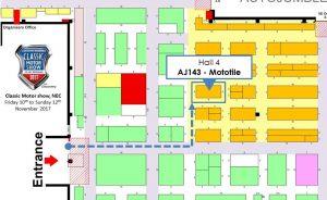 Mototile Hall 4 Stand number AJ143