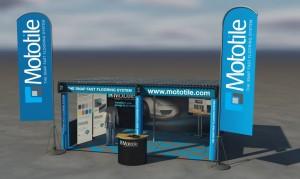 Mototile Tiles - Exhibition Stand.