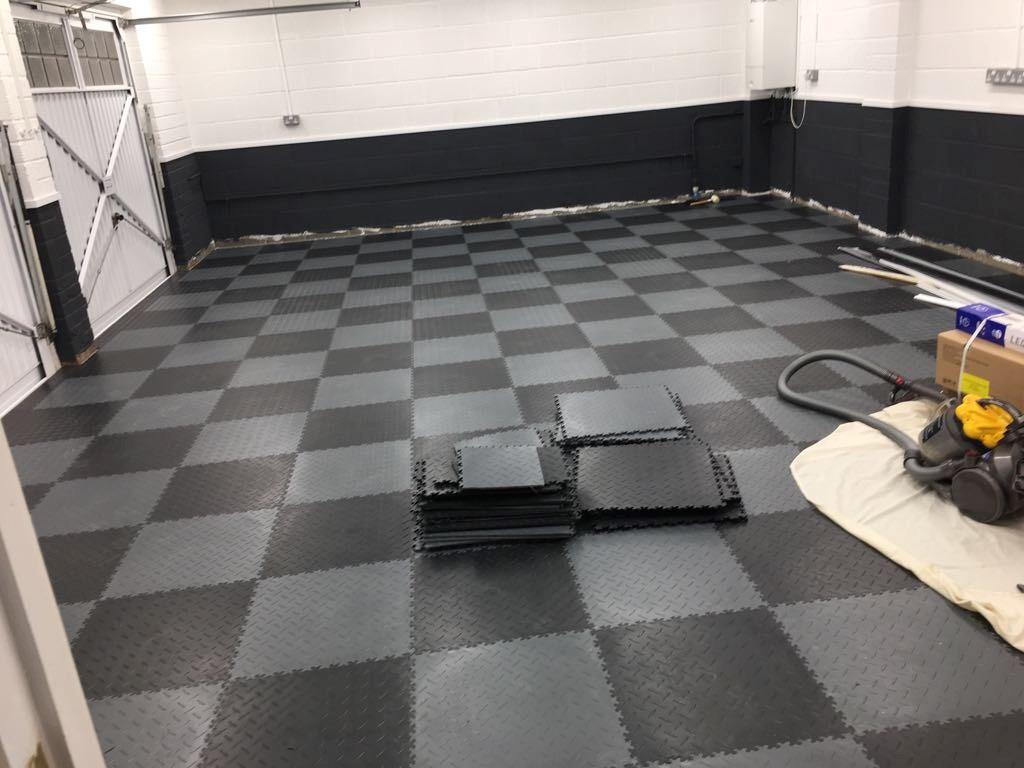 Mototile Interlocking Flooring Garage Floor
