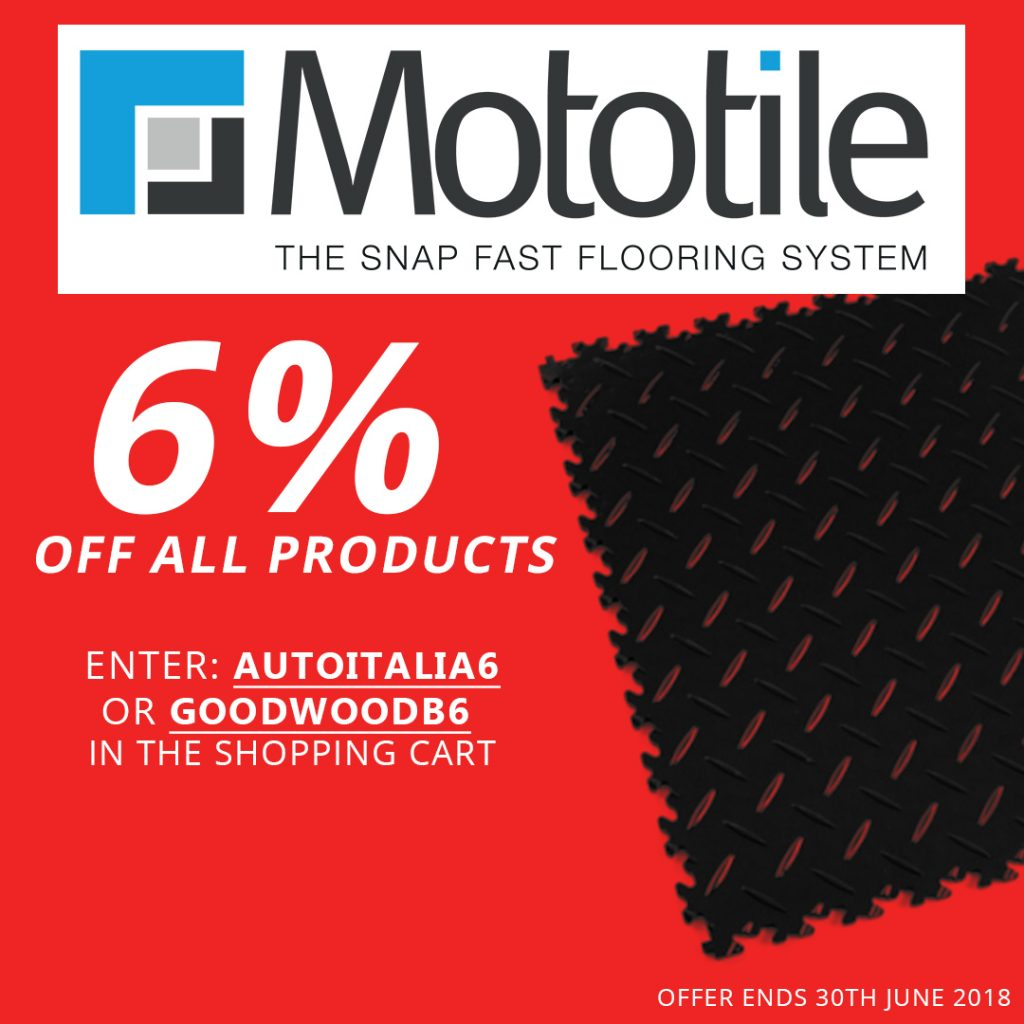 6% OFF ALL MOTOTILE PRODUCTS