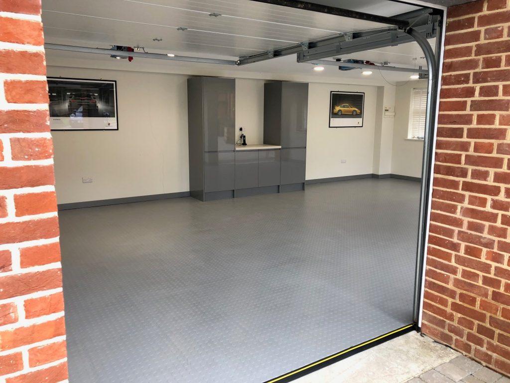 Grey motolock tiles