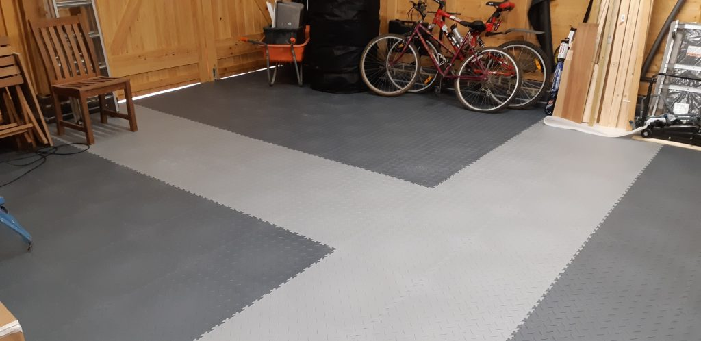 Grey colour Floor Tiles